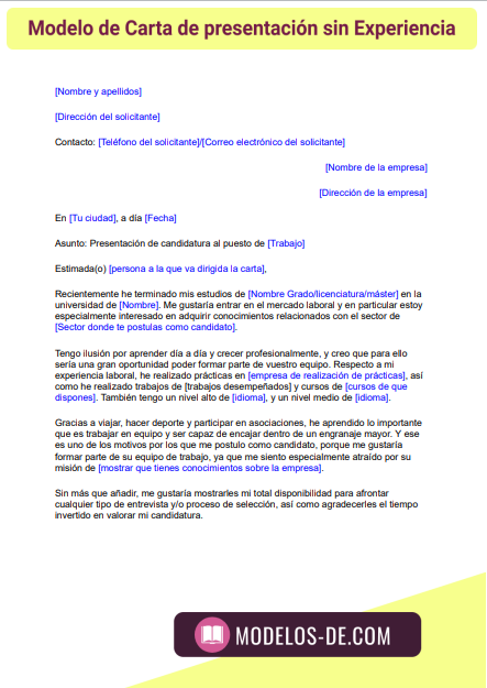 modelo-carta-presentacion-sin-experiencia