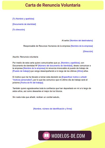 modelo-carta-renuncia-voluntaria