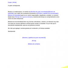 modelo-carta-recomendacion-vecinal