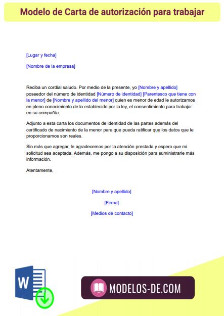 modelo-carta-autorizacion-trabajar