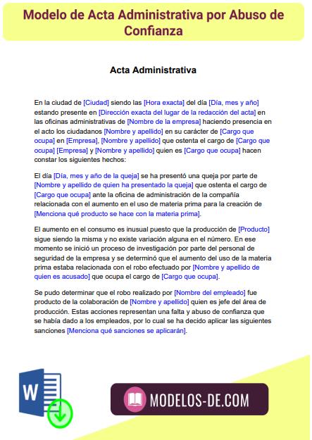 modelo-acta-administrativa-por-abuso-de-confianza