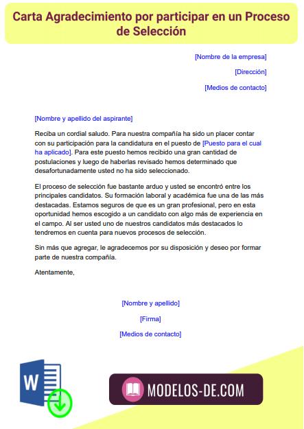 modelo-carta-agradecimiento-participacion-proceso-seleccion