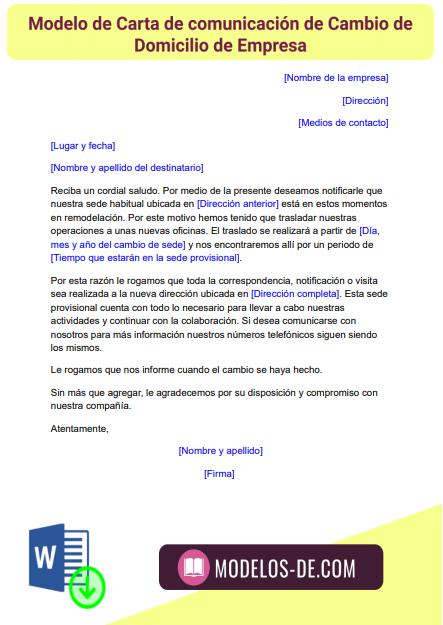 modelo-carta-comunicacion-cambio-domicilio-empresa