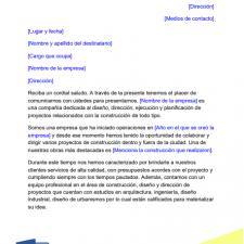 modelo-carta-presentacion-empresa-constructora