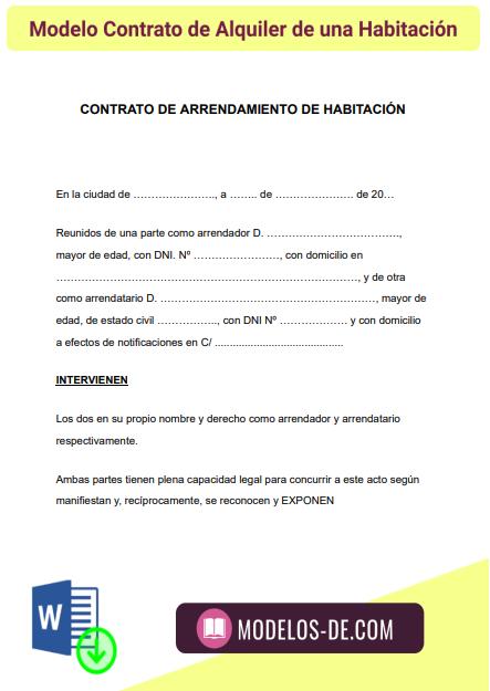 modelo-contrato-alquiler-de-una-habitacion-alquiler-cuarto-ejemplo-formato
