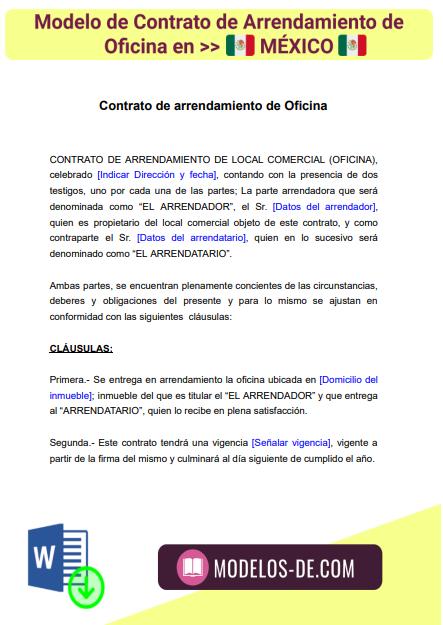 modelo-contrato-arrendamiento-oficina-en-mexico-ejemplo-formato
