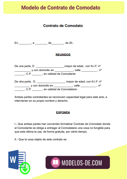 modelo-contrato-comodato-formato-ejemplo