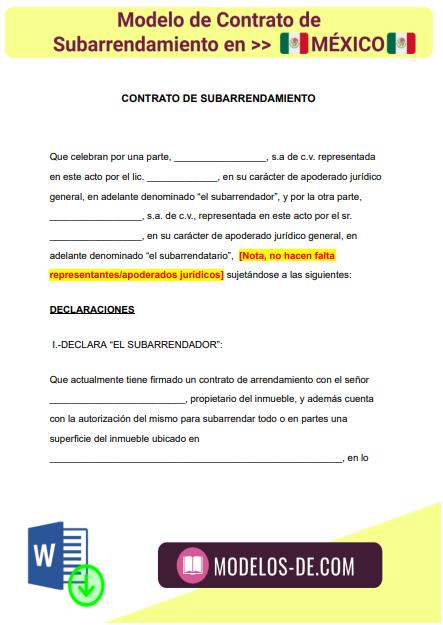 modelo-contrato-subarrendamiento-mexico-ejemplo