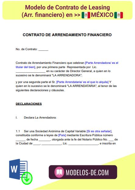 modelo-contrato-leasing-arrendamiento-financiero-mexico-ejemplo-formato