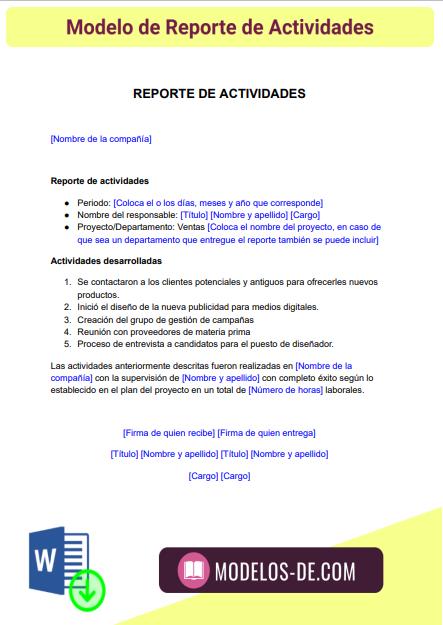 modelo-reporte-actividades-ejemplo-formato