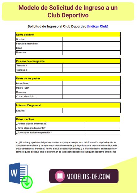 modelo-solicitud-ingreso-club-deportivo-ejemplo-formato