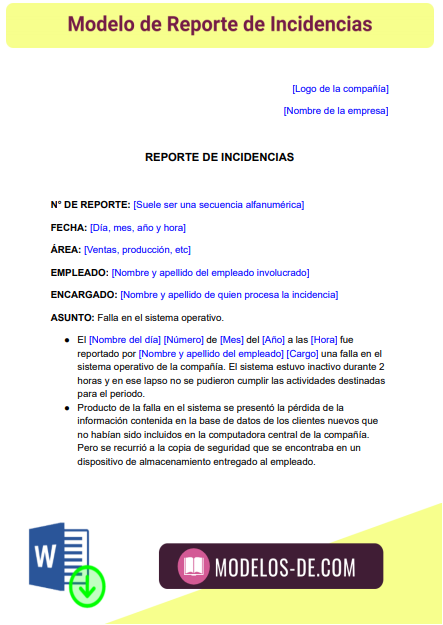 modelo-reporte-incidencias-ejemplo-formato