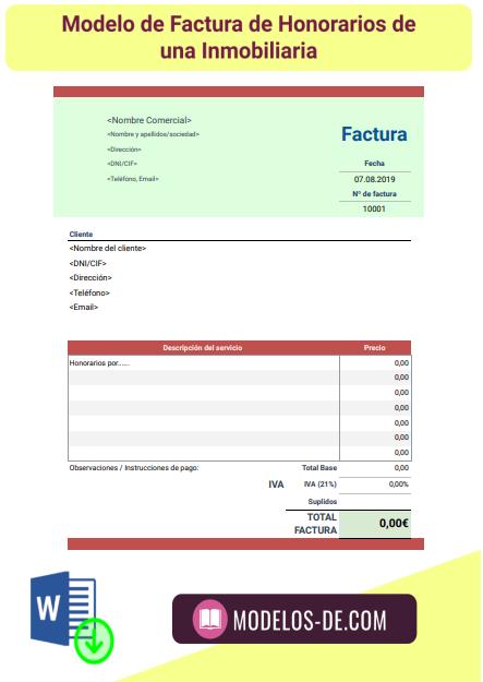 plantilla-modelo-factura-honorarios-inmobiliaria
