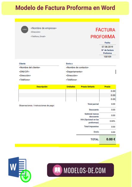 plantilla-modelo-factura-proforma-formato-word-doc