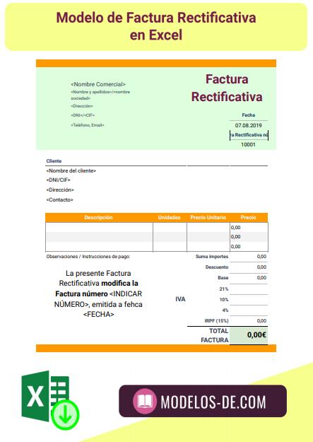plantilla-modelo-factura-rectificativa-excel