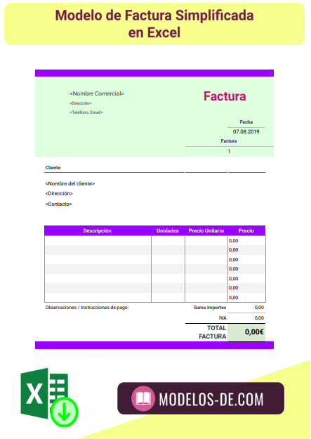 plantilla-modelo-factura-simplificada-excel