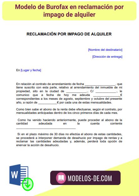 modelo-burofax-reclamacion-impago-alquiler-arrendamiento