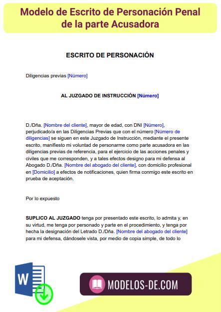modelo-escrito-personacion-penal-parte-acusadora