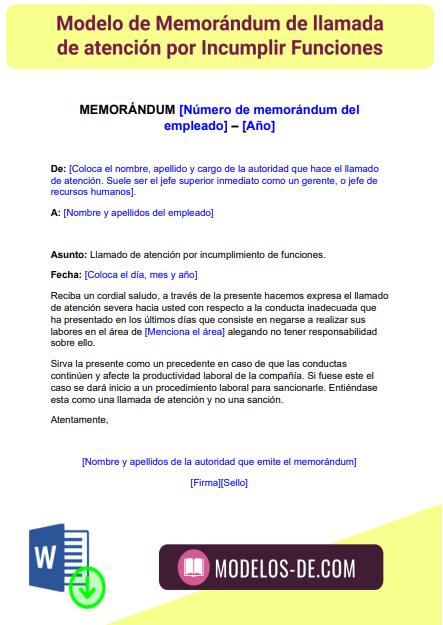 modelo-formato-memorandum-llamada-atencion-incumplimiento-funciones