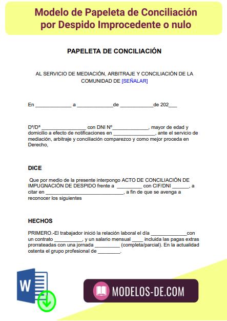 modelo-papeleta-conciliacion-despido-improcedente-nulo