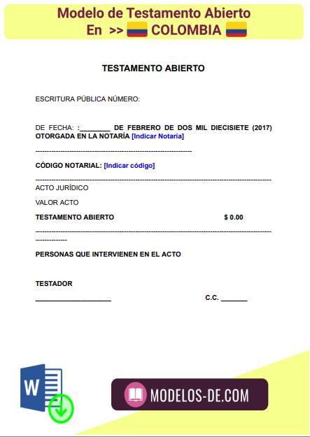 modelo-testamento-abierto-colombia