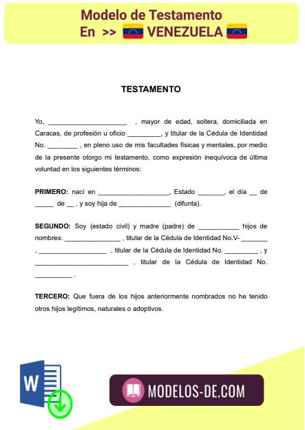 modelo-testamento-en-venezuela