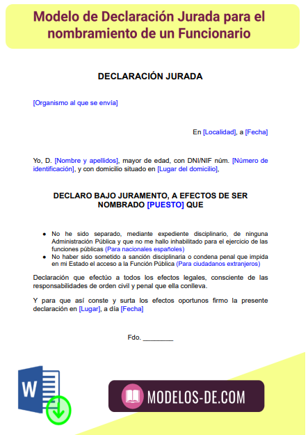 plantilla-modelo-declaracion-jurada-para-funcionario