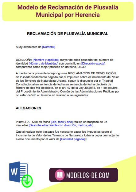 plantilla-modelo-reclamacion-plusvalia-municipal-por-herencia