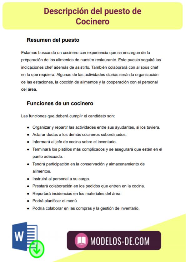 ejemplo-modelo-formato-plantilla-descripcion-puesto-cocinero