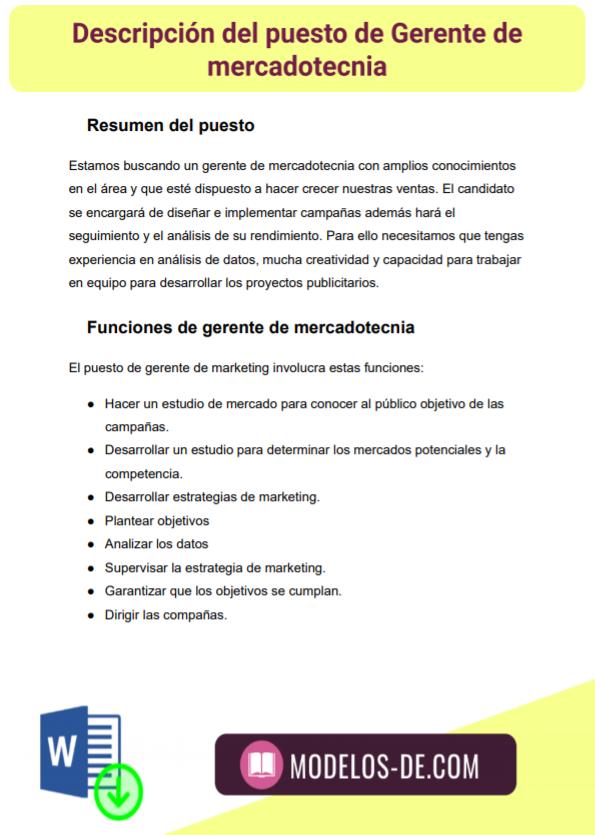 ejemplo-modelo-formato-plantilla-descripcion-puesto-gerente-mercadotecnia