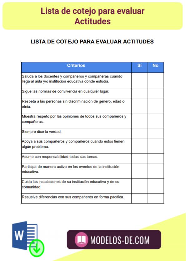 modelo-plantilla-formato-lista-cotejo-evaluar-actitudes