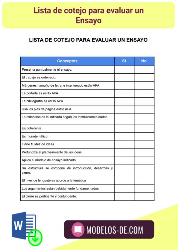 modelo-plantilla-formato-lista-cotejo-evaluar-ensayo