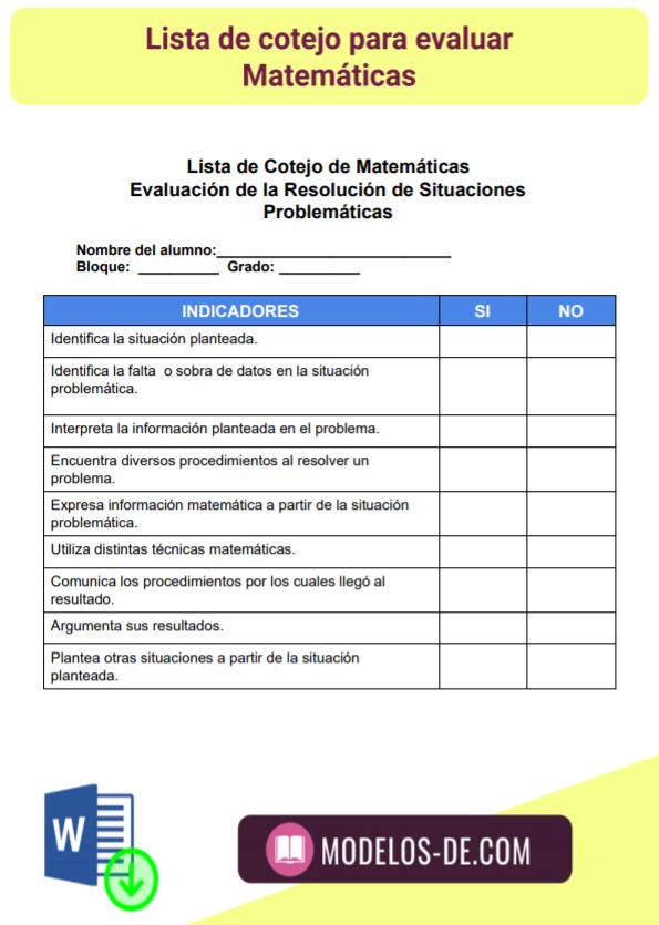 modelo-plantilla-formato-lista-cotejo-evaluar-matematicas